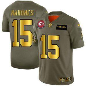 Kansas City Chiefs #15 Patrick Mahomes Jersey2